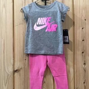 Nike tee and leggings